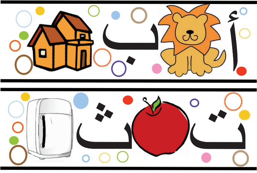Abecedario Arabe para niños