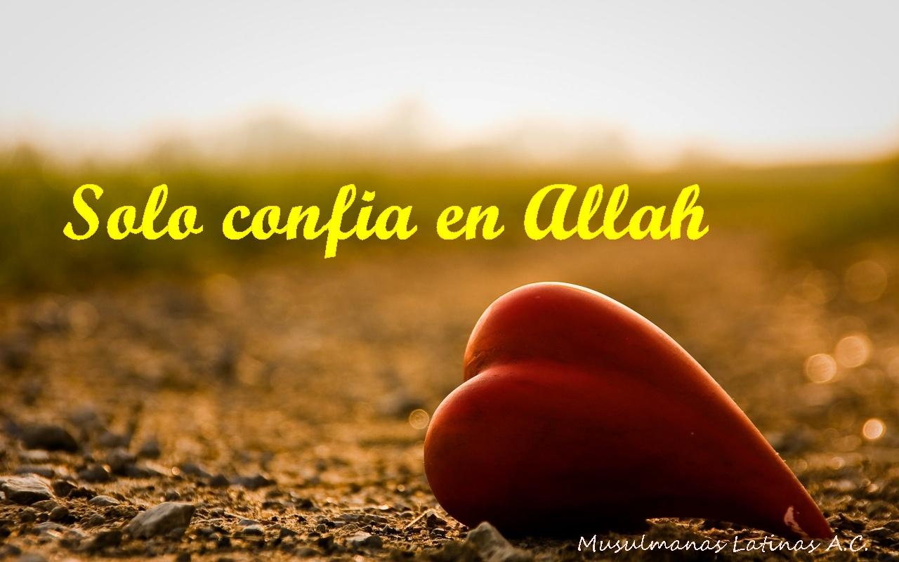 Confiar en Allah combate el estres