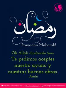 ¿ Ramadan?                    El alimento del alma