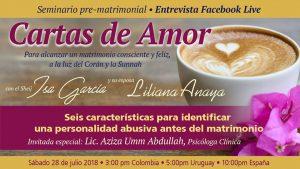 Evento online Cartas de Amor …